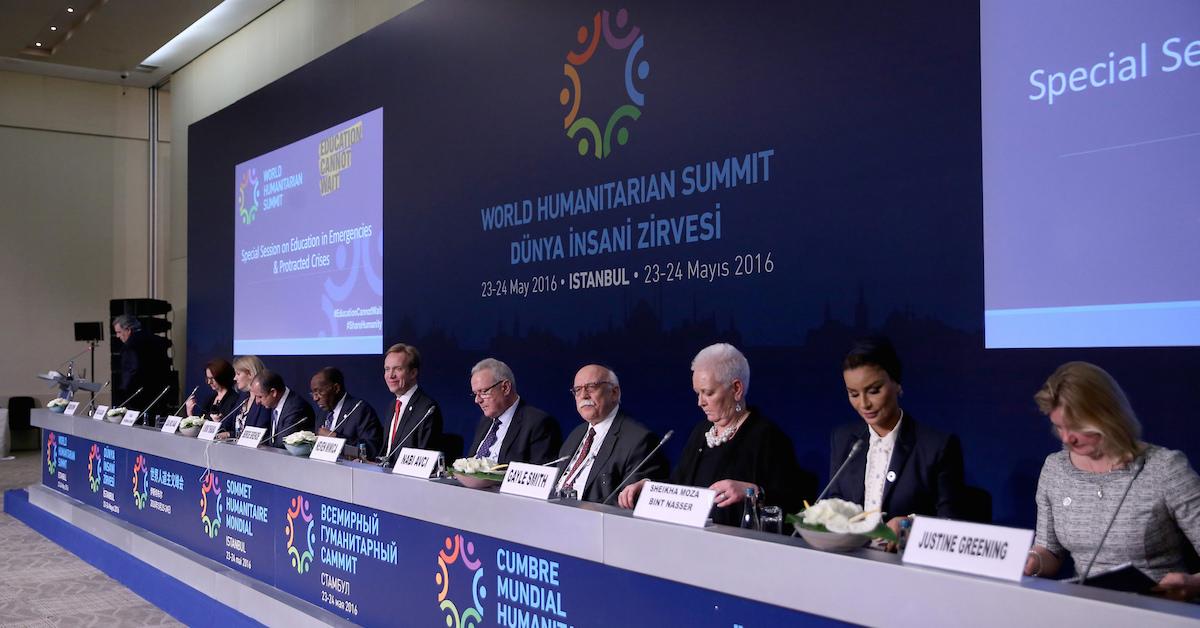cumbre mundial humanitaria