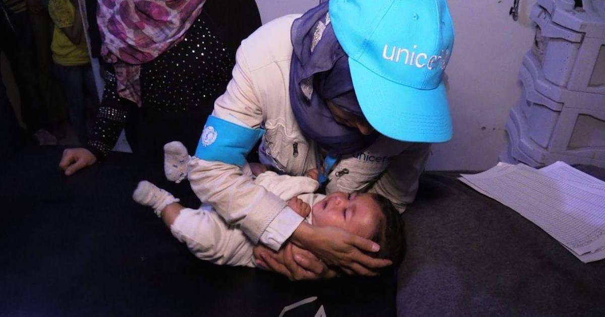 conflicto en siria unicef