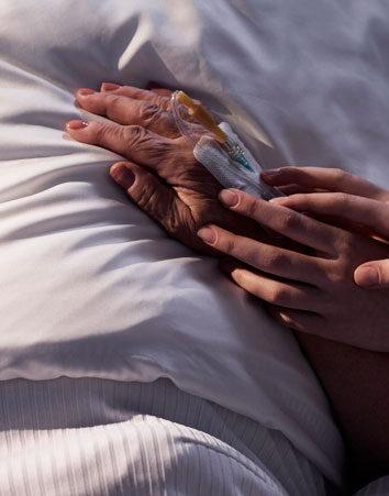 Firma para aprobar la eutanasia en España