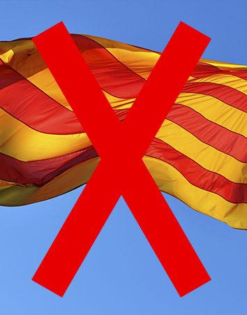 No al referéndum en Cataluña