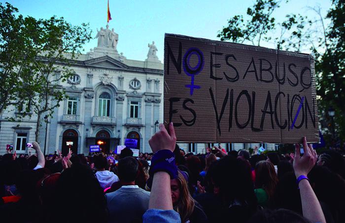 Manifestación contra la sentencia de La Manada (Gtres)