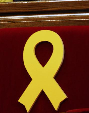 Firma a favor de los lazos amarillos