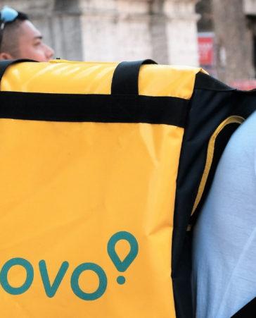Firma para más derechos a los ciclistas de glovo