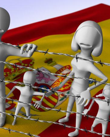 Firma para la regulación de los inmigrantes en España
