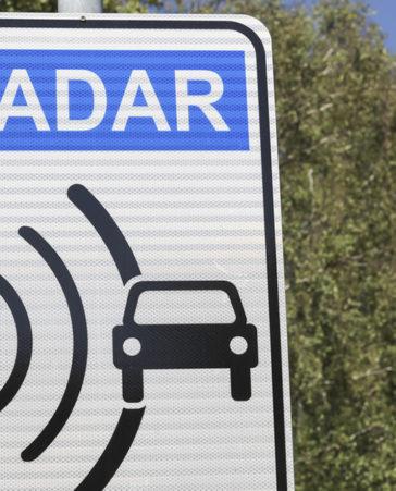 Firma por la eliminación de radares con fin recaudatorio
