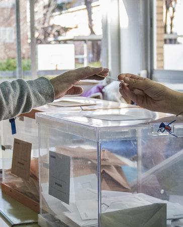 Firma por la igualdad en las urnas: 1 persona 1 voto