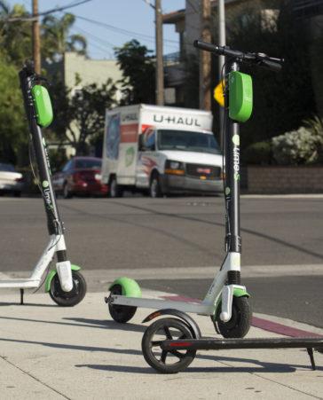 Firma para eliminar los patinetes eléctricos