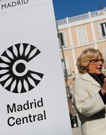 Firma para que continúe Madrid Central