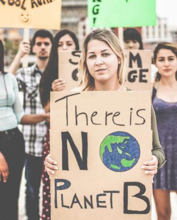Firma para que los gobiernos luchen contra el cambio climático