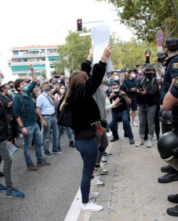 Firma contra el confinamiento clasista en Madrid