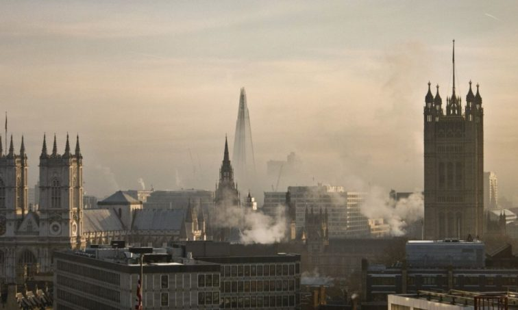 Contaminación en Londres (iStock)